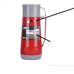 1.0. L num balão de vácuo vidro plástico reabastecer o reservatório de água quente térmico China Kitchen Ware Factory