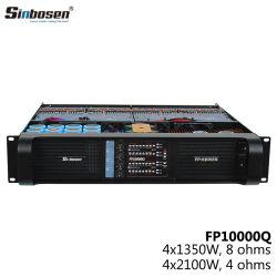 Sinbosen 4 채널 직업적인 오디오 전력 증폭기 5000 와트 실험실 Fp10000q Gruppen