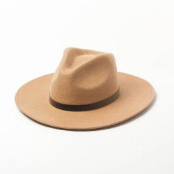 Cappelli della fedora del feltro del poliestere delle lane di modo