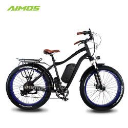 48V 750W de matières grasses avec des pneus de vélo électrique 48V 13,2Ah LG Batterie Li-ion