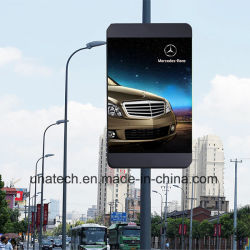P3/P4/P6/P8 Alumbrado Pole/Post/Pilar/columna piscina medios de comunicación con el diseño de teléfonos inteligentes Pantalla LED