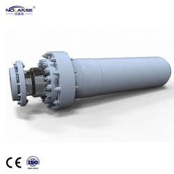 Carregador duplo Telescópica Dupla Ação terminou com vários estágios do cilindro hidráulico para serviço pesado