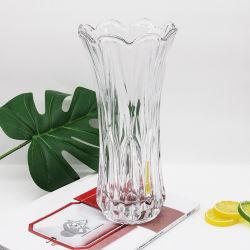 الصين مصنع يخلو زهرة واضحة زجاجيّة إناء زهر زجاجة إستعمال لأنّ طاولة زخرفة