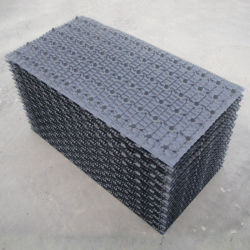 산업용 FRP 교차 흐름 냉각수 냉각탑 PVC 패킹