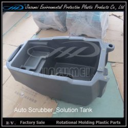 PE de Materiële Rotatie Plastic Delen van de Gaszuiveraar van het Afgietsel voor Machine Clening