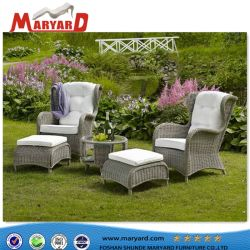 Jardín bonito diseño Sofá mimbre muebles de rattan PE