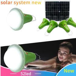 Многофункциональный светодиод аккумулятор солнечной аварийной световой сигнализации система солнечной системы питания
