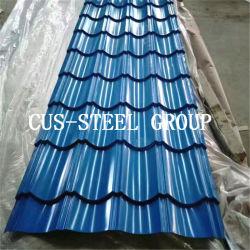 [وف بروفيل] فولاذ يغضّن حديد سقف يصفح/قرميد تأثير تسليف صفح
