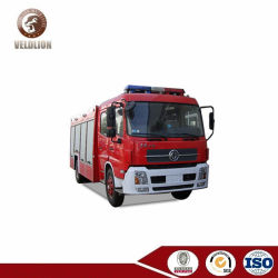 Dongfeng 두 배 줄 Cabine 2000대 갤런 화재 차량 (6000L 물 탱크 & 2000L 거품 탱크)