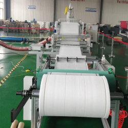 Schmelze durchgebranntes Gewebe Pfe95/Tuch, das Produktions-Strangpresßling-Maschine herstellt