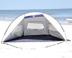 일요일 반대로 UV 대피소 옥외 바닷가 그늘 천막을 낚시질해 2020대의 Portable 3-4 사람