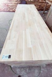 El roble/abedul Paneles Encolados de Canto - Dedo se unió a las placas de madera