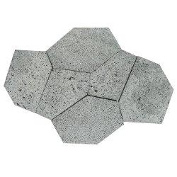 Mattonelle naturali della pietra della lava per pavimentare