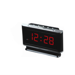 ABSプラスチックデジタル旅行目覚し時計