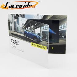 Китай Facevideo поставщиков 10,1-дюймовый TFT ЖК-панели Car Видео торговая марка магазина видео буклет цифровых рекламных брошюр плеер