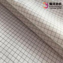 Les stocks de tissu ESD/polyester Tissu conducteur électrique tissu antistatique pour vêtements de travail en salle blanche