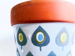 テラコッタ植木鉢のテラコッタプランター素焼鉢の庭の鍋