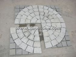 Гранитные плитки Mosaic листов мощеной/куб Pavers точильного камня