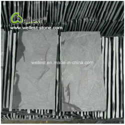 رخيصة طبيعيّ حجارة أسود أردواز فطر حجارة وحديقة جدار قرميد