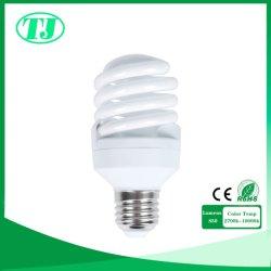 5W Las lámparas CFL espiral Completa Lámpara de ahorro de energía E14/E27/B22 2700K-10000K
