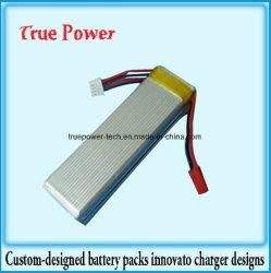 銃モデルのための高品質の李ポリマーRC電池11.1V 500mAh
