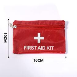 Pequeños y portátiles Outdoor viaje hogar Kit de primeros auxilios