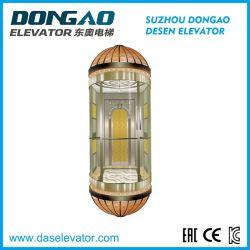 良質ガラスのVvvf装置が付いている観光のパノラマ式の観察のエレベーター