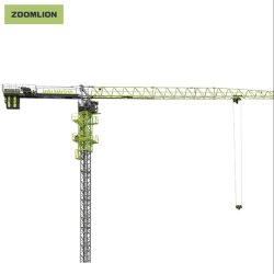 W Zoomlion6015-8Une machinerie de construction Flat-Top/Top-Less grue à tour