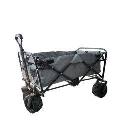 Il Portable scherza i carrelli della spiaggia del carrello con le grandi rotelle