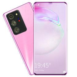 Teléfono móvil Goophone Whosale Nota30 Nota20+ 6,7 pulgadas de gran pantalla táctil de 2 GB HD+16Real Android Smartphone personalizar el logotipo de la cámara