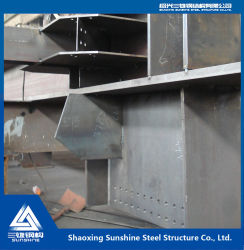 الإطار الفولاذي لمصنع الطاقة الساحلية مع الجودة العالية و سعر مناسب