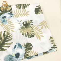 100%Algodón tela Poplin impreso de flores de tela del vestido