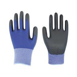 Безопасность рабочей красочные PU покрытием перчатки с размером 10/XL