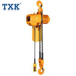 5t de elektrische Machines van de Bouw van het Type van Ketting Hijstoestel Vaste