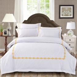 Hotel-Sammlung Hochwertige Bettlaken Aus Stickerei aus Baumwolle (JRD776)
