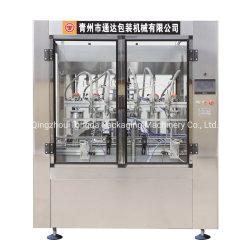 6 frasco de vidro automática cabeças de pistão Linear Máquina de Enchimento de Óleo de Enchimento