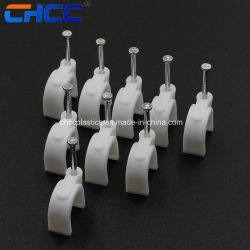 Collarini per cavi del collegare 100PCS/Bag del chiodo del percorso del cerchio rotondi