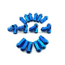 Repor o parafuso da roda de alumínio CNC anodizado