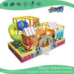 Il parco di divertimenti scherza il gioco molle del castello impertinente dell'interno (HJ-14102)