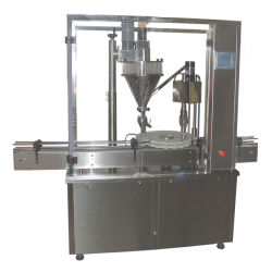 Automatische Flaschen-Glas-Puder-Füllmaschine-Milch, Protein, Medcine Puder