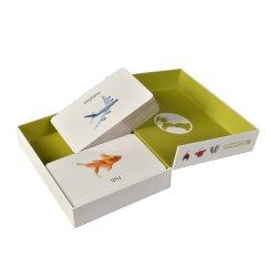 플래시 카드 - 엄밀한 서류상 기술 상자, 마분지 보석 선물 수송용 포장 상자, 차/커피/적포도주/꽃/사탕/초콜렛을%s 관 포장 상자
