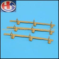Custom emboutissage de métal en laiton cosses de terminal de cuivre de connecteur électrique de la borne de PCB