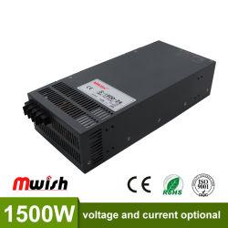 De enige Transformator 1500W 110V 220V AC van de Levering van de Macht van de Omschakeling van de Output 24V 62.5A aan gelijkstroom 36 V SMPS voor de LEIDENE van de Elektronika Vertoning van de Strook