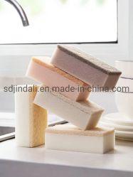 Lavage de vaisselle éponge carré vert avec tampons à récurer Heavy Duty