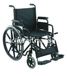 Fauteuil roulant manuel d'acier fonctionnelle de l'ALC903b