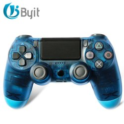 Byit Wireless Bluetooth controlador de juego para PS4 DUALSHOCK Gamepad Pro 1tb de panel táctil de 2 controladores Gamepad