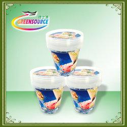 Form-Kennsätze des Form-Firmenzeichen-Label/in für Joghurt-Cup