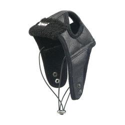 Dog Aviator Hat, Cão chapéu de piloto de Inverno com retalhos de orelha para Clima Frio Fleece Aviator Hat Aqueça o caçador de couro Pet Traje Piloto Hat Cap12535 ESG