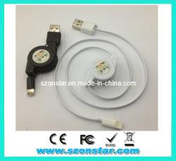 Einziehbarer USB Cable für iPad, iPhone4, iPhone4s, Ipone5, Ipone5s