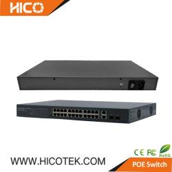 El estilo de capa 2 de Cisco Smart 1000Mbps Ethernet gestionados 24 Puertos Poe